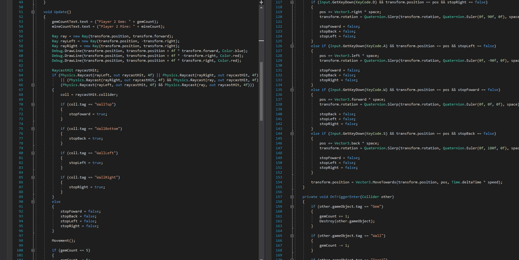 C# Scripts for Players
