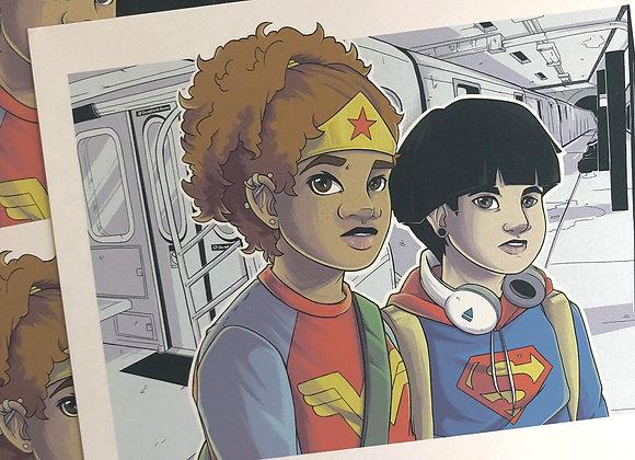 Urban Heroes #1 Underground