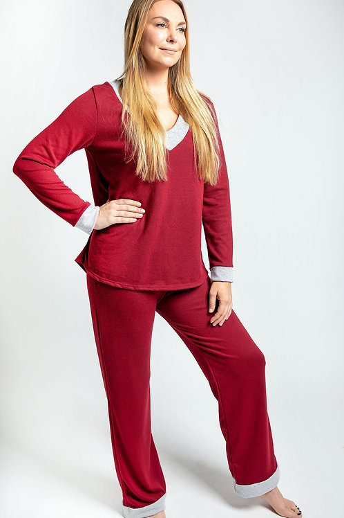 Relaxed, Wide-legged pant, PJ all day Loungewear