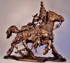 Horse Rider of the Apocalypse