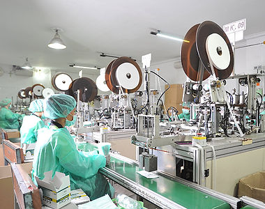 Face mask factory