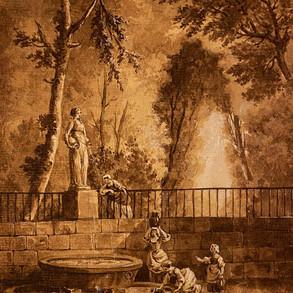 Ent. d'Hubert ROBERT (1733-1808)