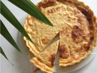 Glutenfreier Käsekuchen mit Sojajogurt