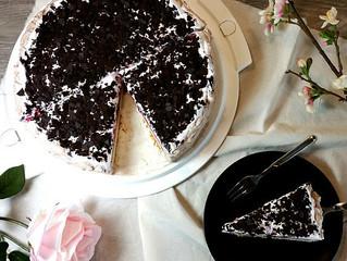 Glutenfreie Sahne Kirsch Torte