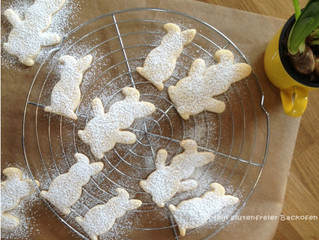 Glutenfreie Hasenkekse