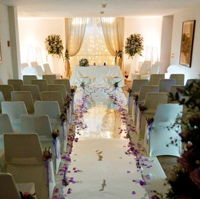 THE INTERIOR CEREMONY ROOM