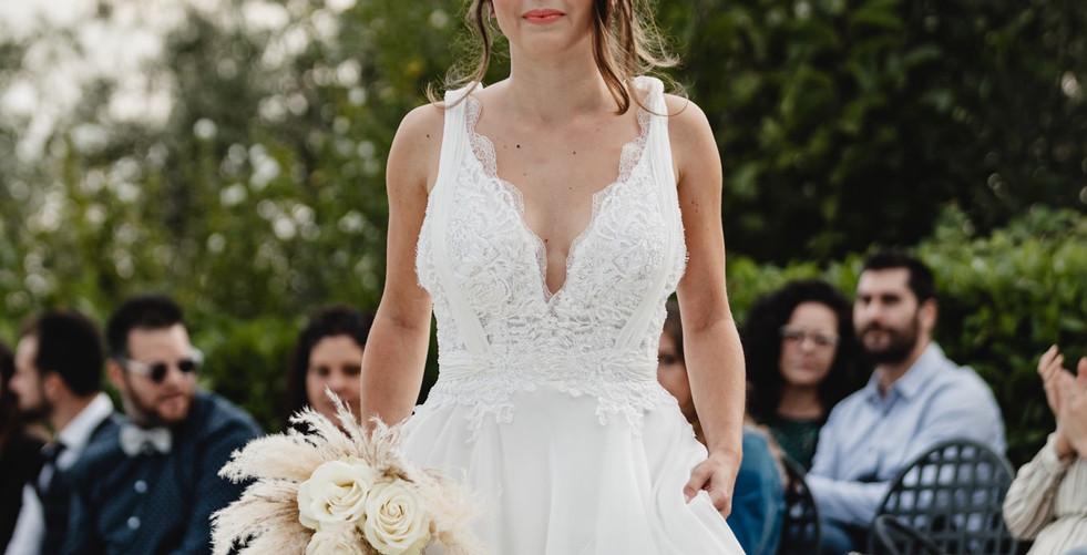 Una sfilata di abiti da sposa