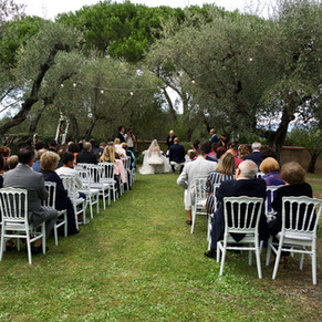 CEREMONY IN THE OLIVE GROVE