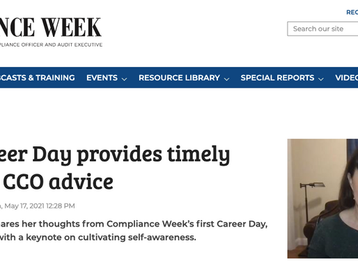 CW21 Career Day provides timely forum for CCO advice