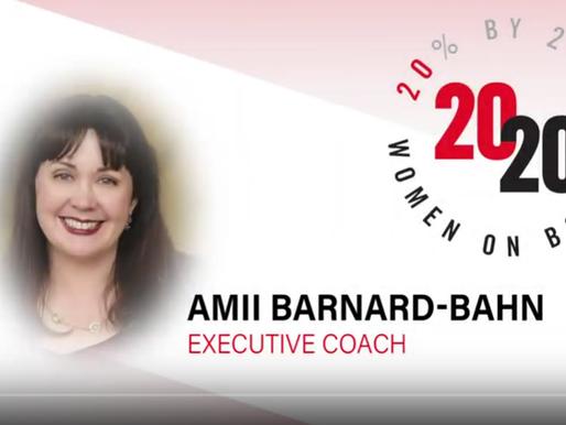 Opening Keynote: 2020 Women on Boards, Sacramento