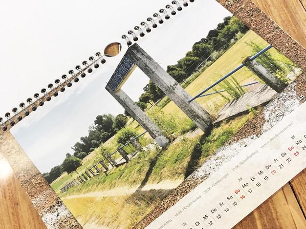 Kalender mit Ringbindung