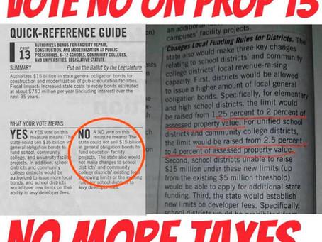 🛑 DO NOT GET DECEIVED—VOTE NO!