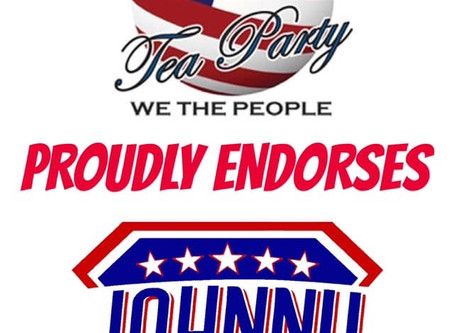 Johnny for Congress Officially Endorsed by Chino Tea Party!
