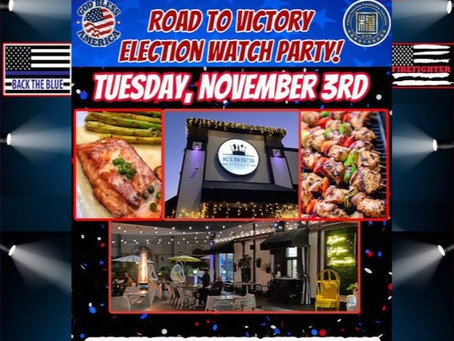 ELECTION NIGHT WATCH PARTY!