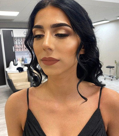 Soft Glam Abendmakeup in Berlin
