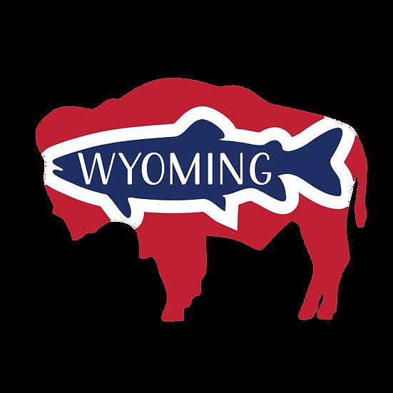 Wyo Buffalo Trout Sticker