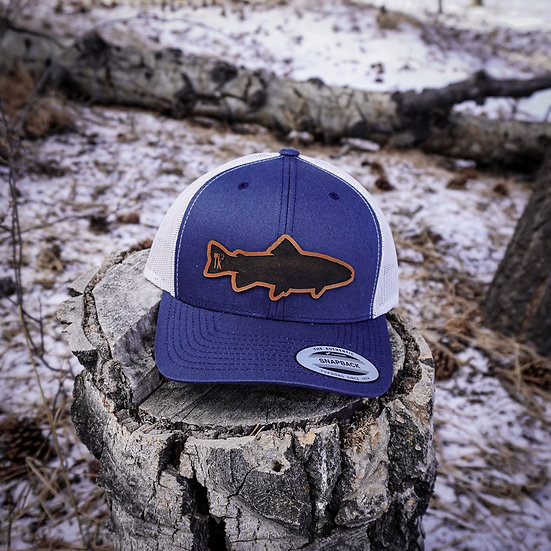 Leather Fish Hat