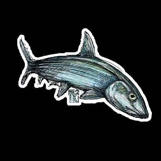Bone Fish Sticker
