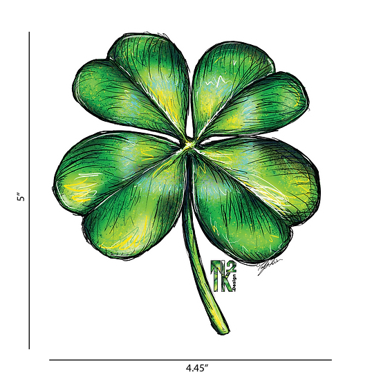 Four-leaf Clover Sticker