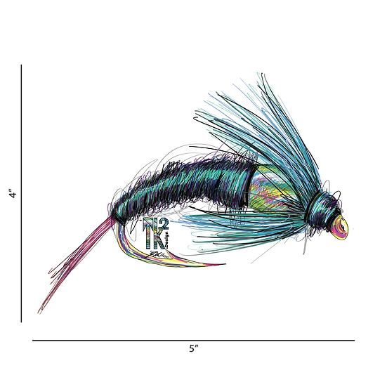 Flashback Emerger Sticker