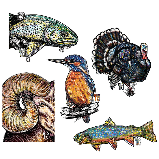 Get Outside Sticker Pack