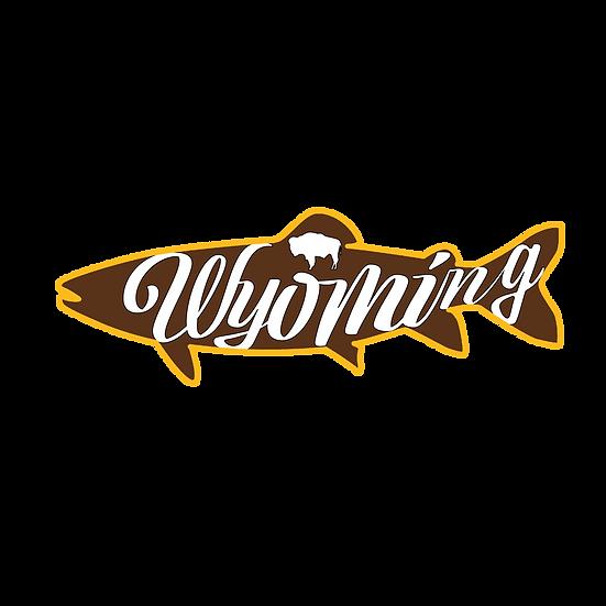 Wyo Trout Sticker
