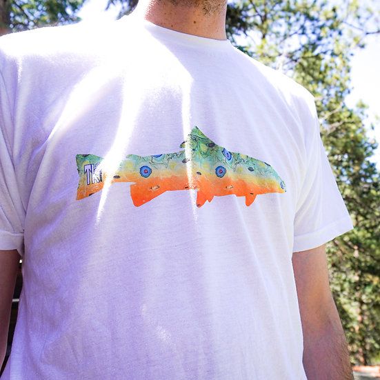 Brook Trout Skin Shirt