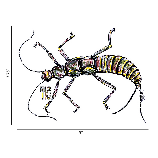 Stonefly Bug Sticker
