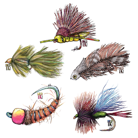 Trout Snacks Sticker Pack