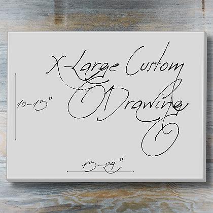 X-Large Custom Drawing
