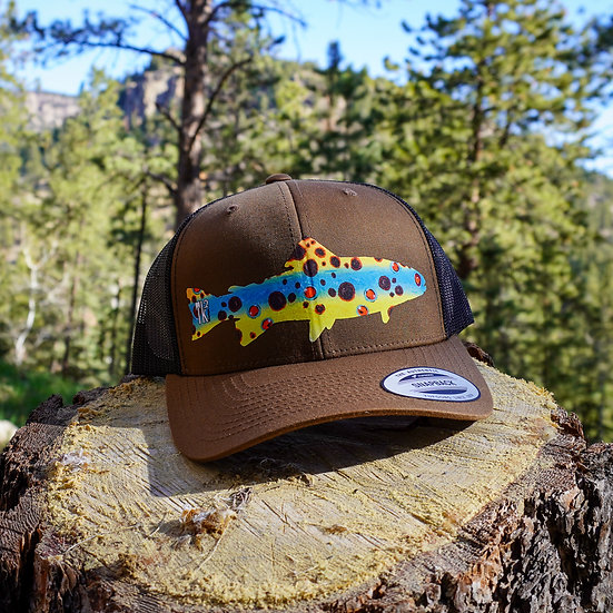 Brown Skin Fish Hat
