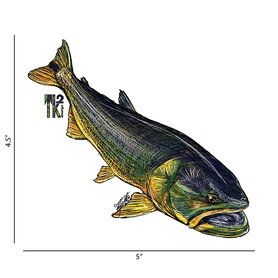 Dorado Sticker