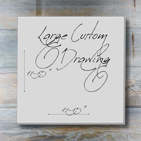 Large Custom Drawing