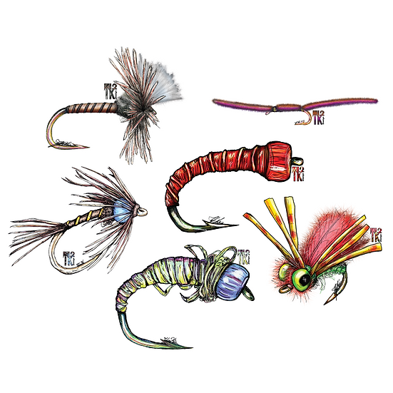 One More Cast Sticker Pack