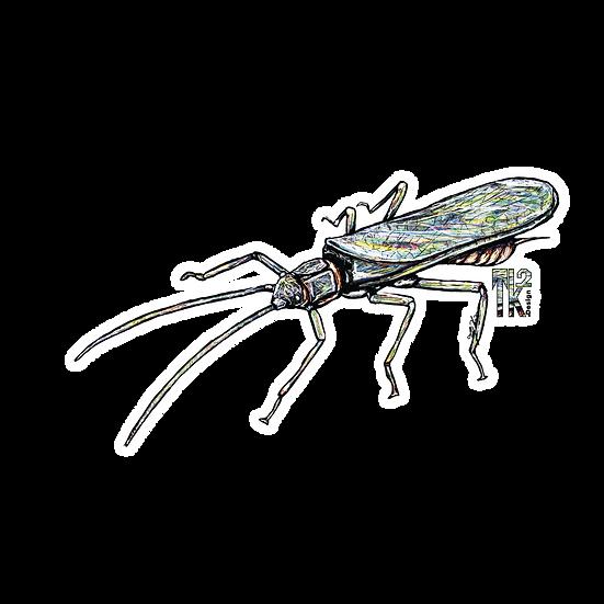 Stonefly Adult Sticker