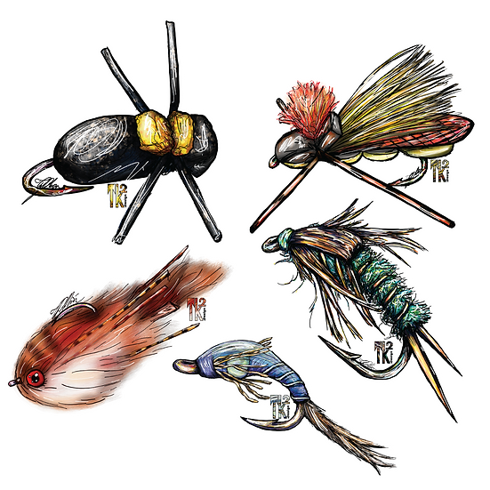 Tight Lines Sticker Pack