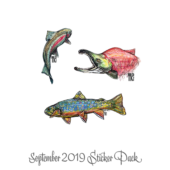 September 2019 Stickers