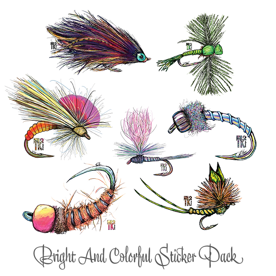 Bight and Colorful Sticker Pack