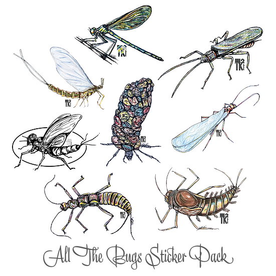 All The Bugs Sticker Pack