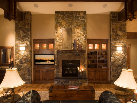 Updating the fireplace mantle can add value