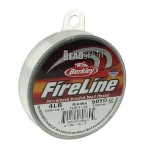 Fireline  Smoke Grey 4lb .005 in/.12 mm dia, 50 yrds