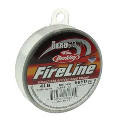 Fireline  Smoke Grey 4lb .005 in/.12 mm dia, 50 yrds
