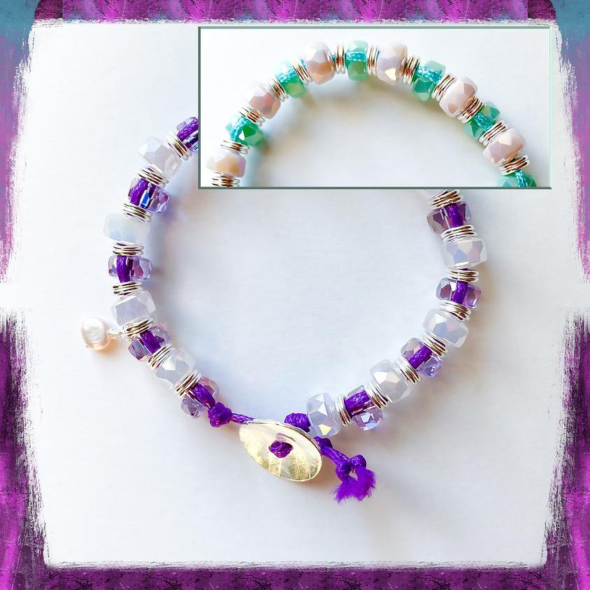 Crystal Beach Bracelet (Zoom)