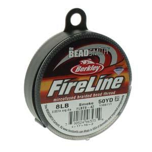 Fireline 8lb Smoke Grey .007 in /.17 mm dia, 50 yrds