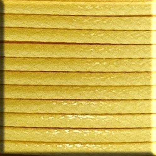 Beach Cord/ Yellow/ 1mm, 1.5mm