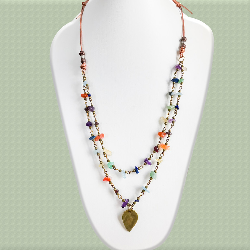 Make and Take Session: Chasing the Tuscan Sky Necklace