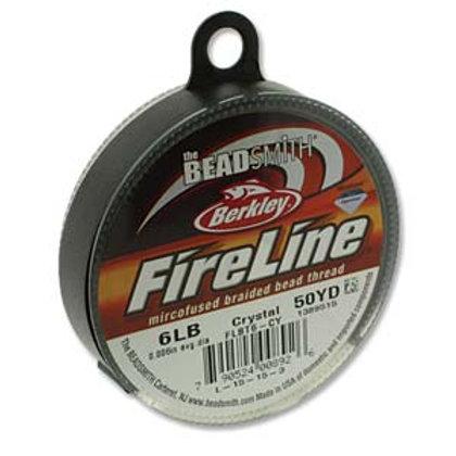 Fireline Crystal 6lb .006 in /.15 mm dia,  50 yrds