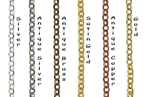 Rolo Cable Chain, 6mm