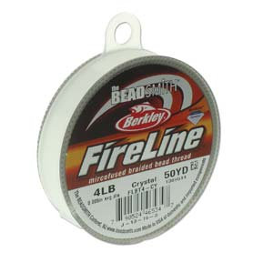 Fireline Crystal 4lb  .005 in/.12 mm dia, 50 yrds