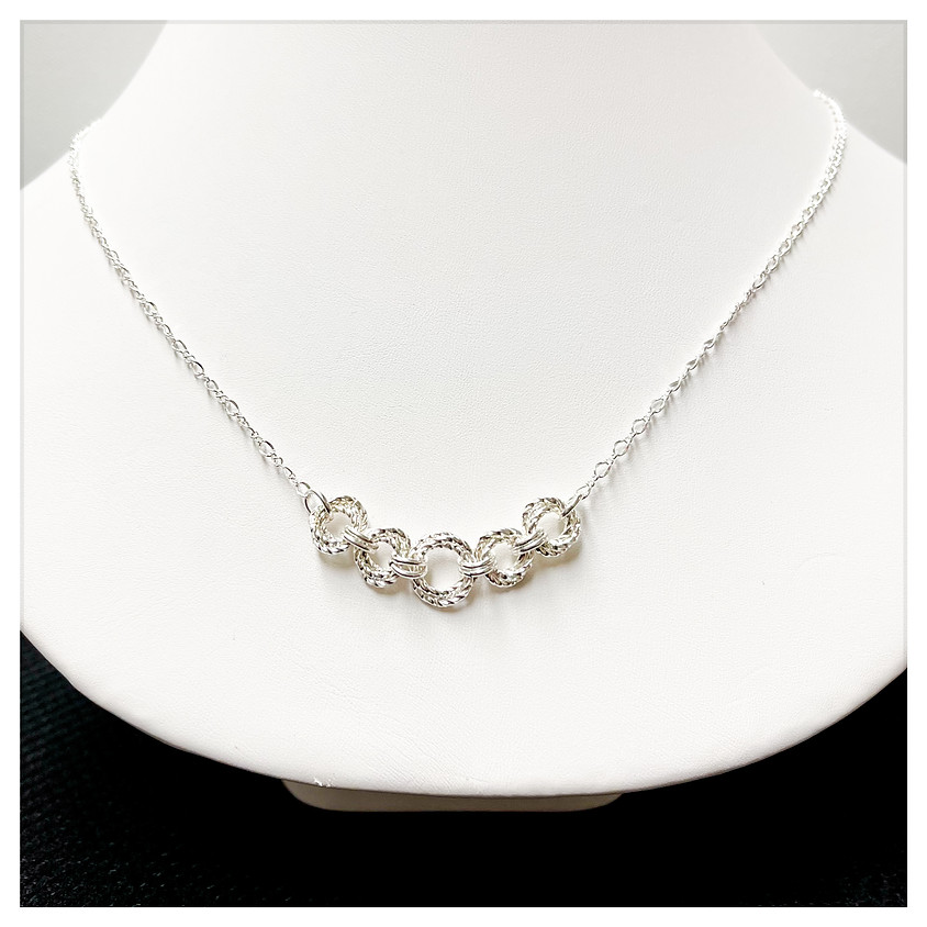 Twisted Rosette Necklace